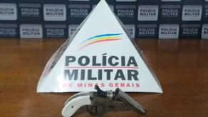 PM apreende arma de fogo durante operação no distrito de Vilanova