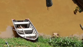 Bombeiros localizam corpo de homem afogado no rio Manhuaçu