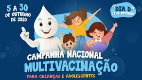 Sábado é dia D de vacinação contra a paralisia infantil