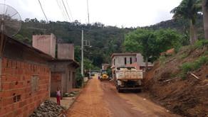 Obras da Rua Engenheiro Caldas em Realeza seguem após eleições