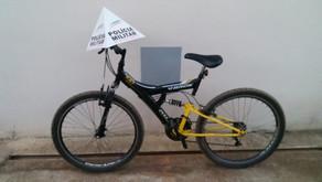 Realeza: PM prende autor e recupera bicicleta furtada em residência do distrito