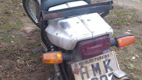 Polícia Militar recupera moto furtada e prende autor de Receptação em Vilanova