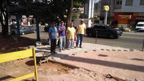 Bem-Estar e Saúde: Secretaria de Obras prepara local para instalar Academia ao Ar livre no bairro Sã