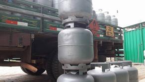 Assalto a caminhão de Gás