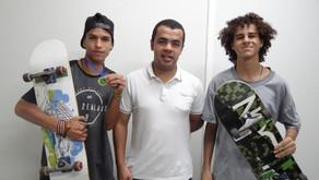 Secretaria de Esportes de Manhuaçu apoia Skatitas para evento em BH