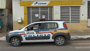 Agência dos Correios é assaltada em Santa Bárbara do Leste
