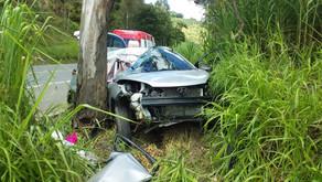 Policial militar da Bahia e filha morrem em acidente em Dom Corrêa