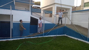Estádio JK preparado pra receber Jogos do Campeonato Mineiro de Segunda Divisão e Campeonato de Bair
