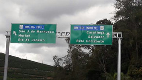 E agora José? Placa instalada recente em Realeza induz ao erro para seguir a viagem Belo Horizonte