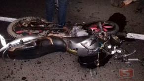 Motociclista morre em acidente em Dom Correa