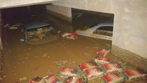 Chuvas dos últimos dias provocam grandes estragos em Simonésia