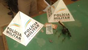 PM prende jovem que planejava morte de morador de Manhuaçu