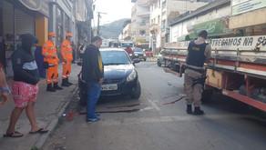 Homem morre atropelado em Manhuaçu