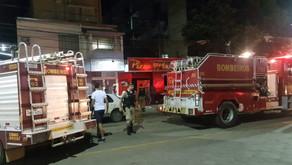 Pizzaria que estava sendo inaugurada pega fogo em Manhuaçu