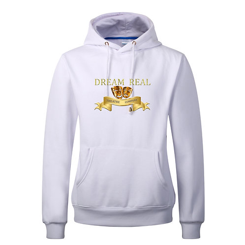 Dream Real Theatre Company White or Grey Hoodie