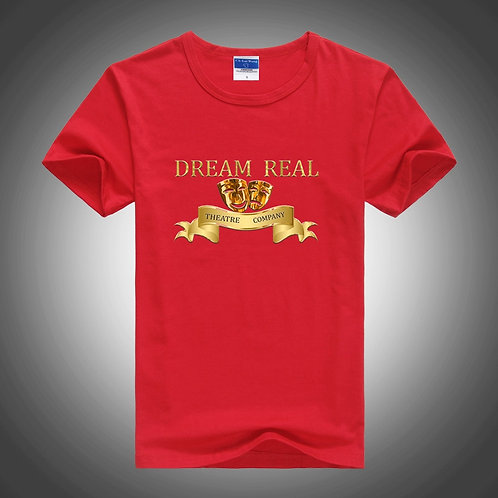 Dream Real Theatre Company Red Tshirt
