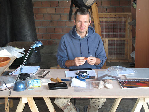 Dr. Krzysztof Domzalski, Polish Institute of Archaeology