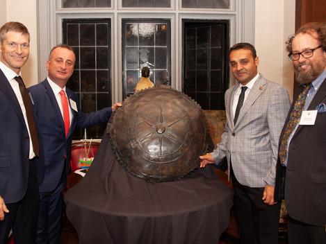 Sinop Kale Excavations' Presentation of its Pharnakes Shield replica