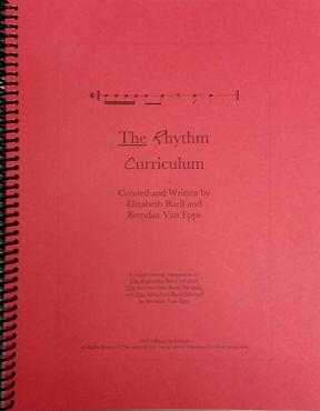 The Rhythm Curriculum by Brendan Van Epps and Elizabeth Buell
