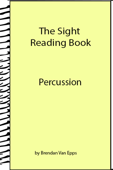 Sight Reading Book-Percussion