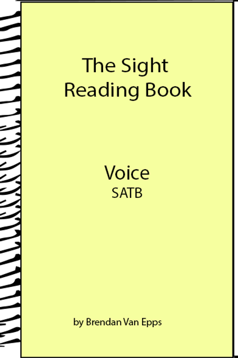 Sight Reading Book-Voice