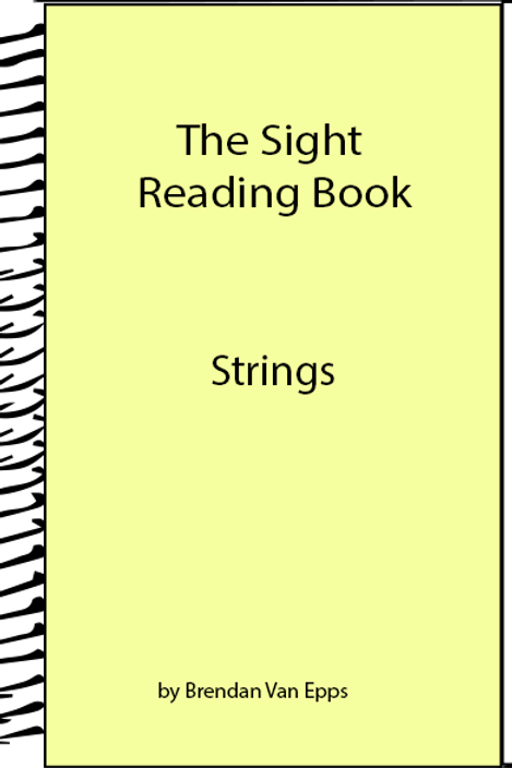 Sight Reading Book-Strings