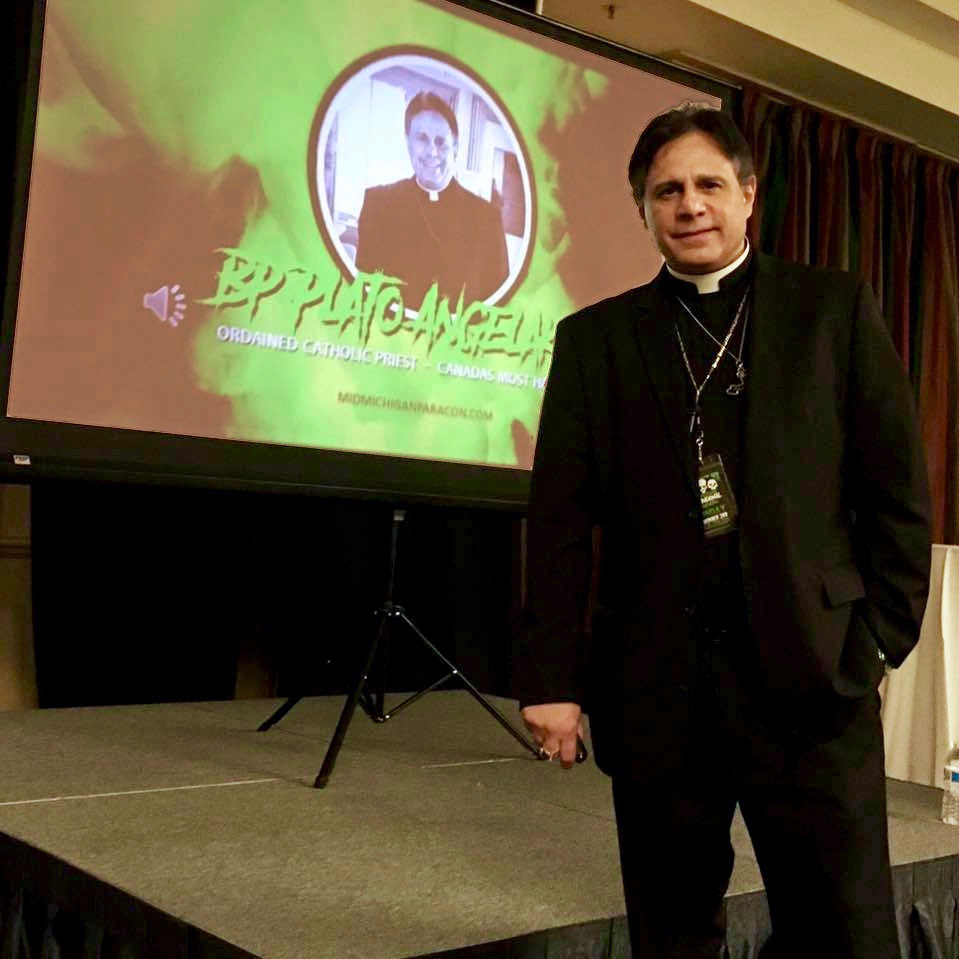 Archbishop Plato Angelakis @ The 4th Annual 2020 Mid-Michigan Paranormal Convention