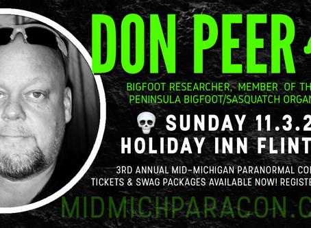 SPEAKER / PRESENTER: Don Peer