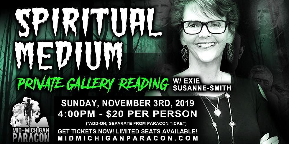 SPECIAL EVENT - Spiritual Medium Gallery Reading