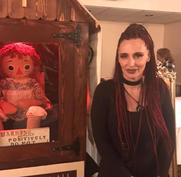 Keeyah Lynn @ The 4th Annual 2020 Mid-Michigan Paranormal Convention