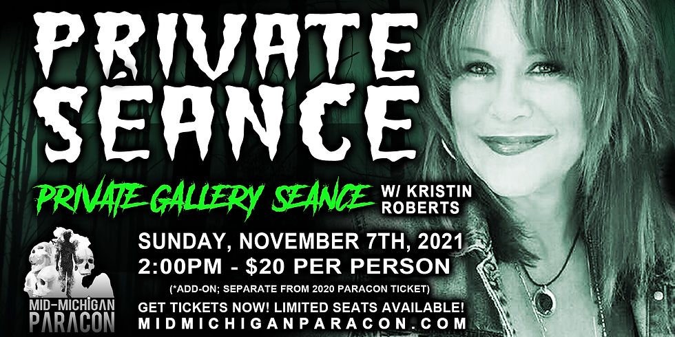 SPECIAL EVENT - Private Gallery Seance