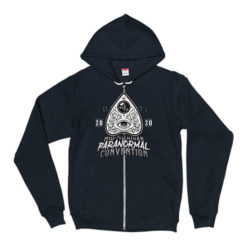 Mid-Mich ParaCon IV Zippered Hoodie (Unisex)