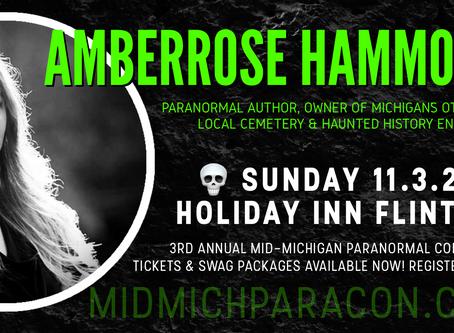 SPEAKER / PRESENTER: Amberrose Hammond