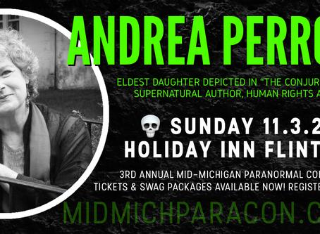 SPEAKER / PRESENTER: Andrea Perron