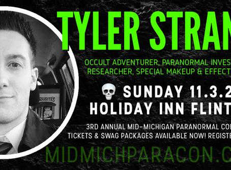 SPEAKER / PRESENTER: Tyler Strand
