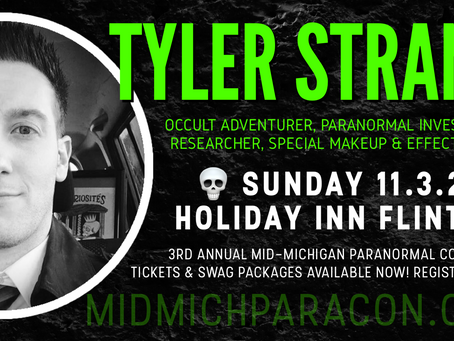 SPEAKER / PRESENTER: Tyler Strand