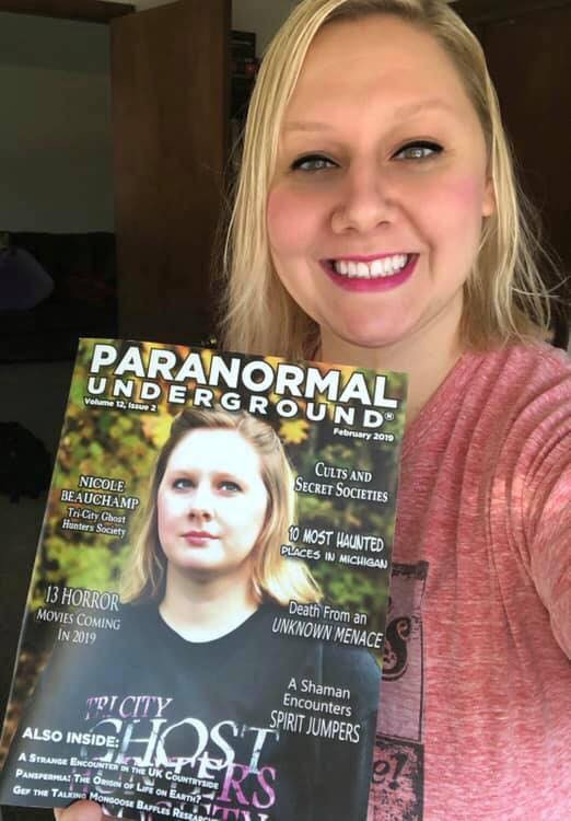 Nicole Beauchamp @ The 2019 Mid-Michigan Paranormal Convention