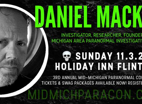 SPEAKER / PRESENTER: Daniel Mackin