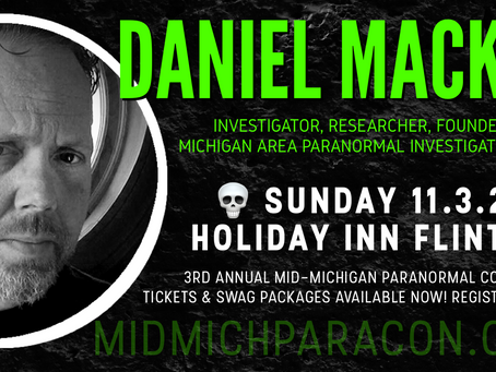SPEAKER / PRESENTER: Daniel Mackin