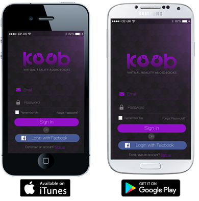 koob Virtual Reality Audiobooks Press Resources