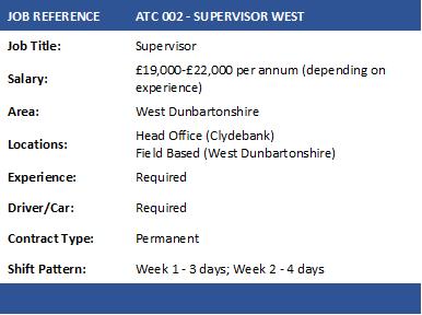 ATC 002 SUPERVISOR
