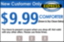 New Customer Coupon for Comforters