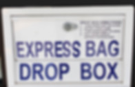 Express Cleaners Drop Box