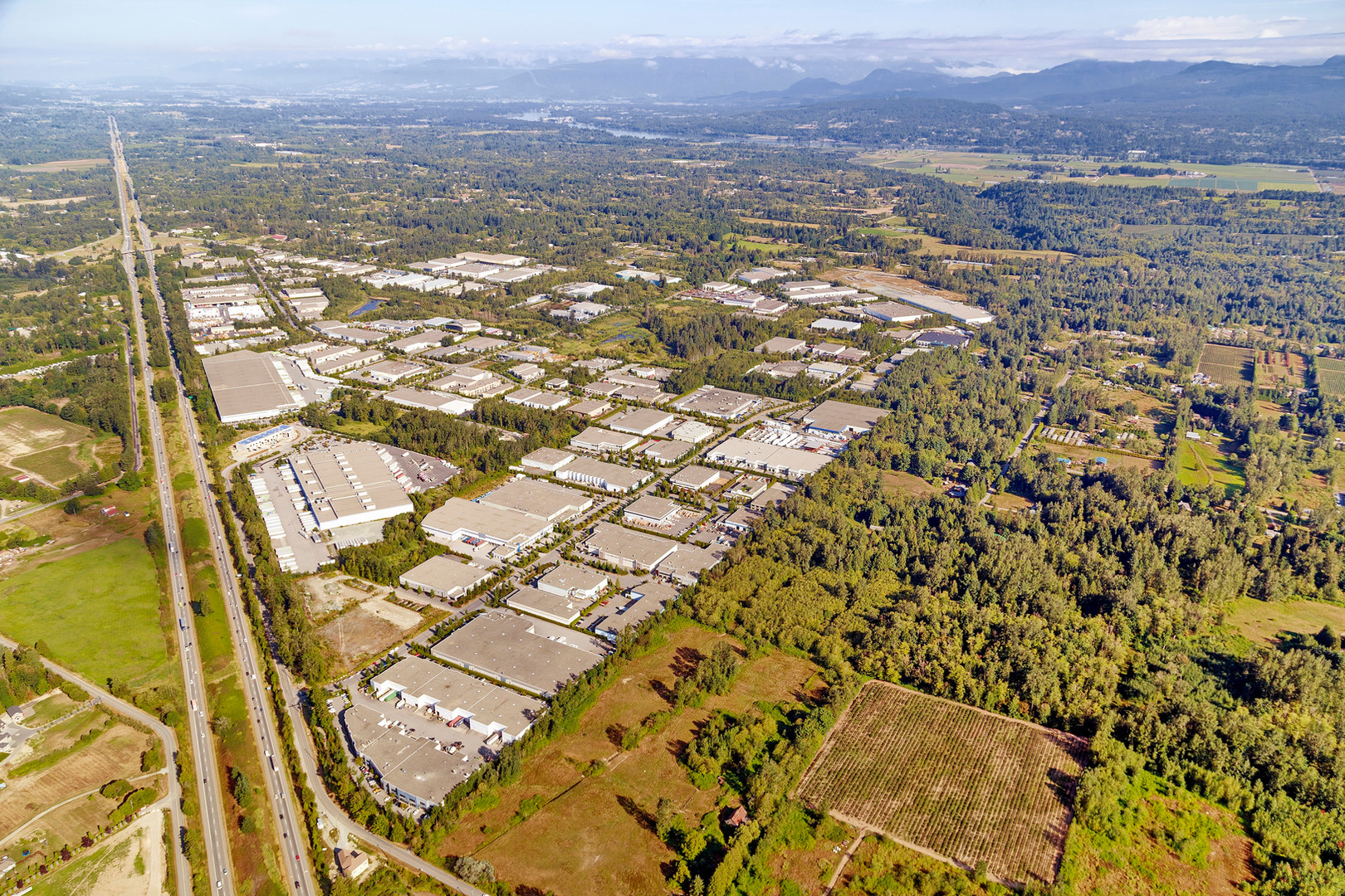 Vancouver Aerial Photography, Gloucester Industrial Park