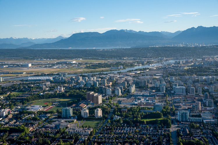 Vancouver Aerial Photography, Richmond