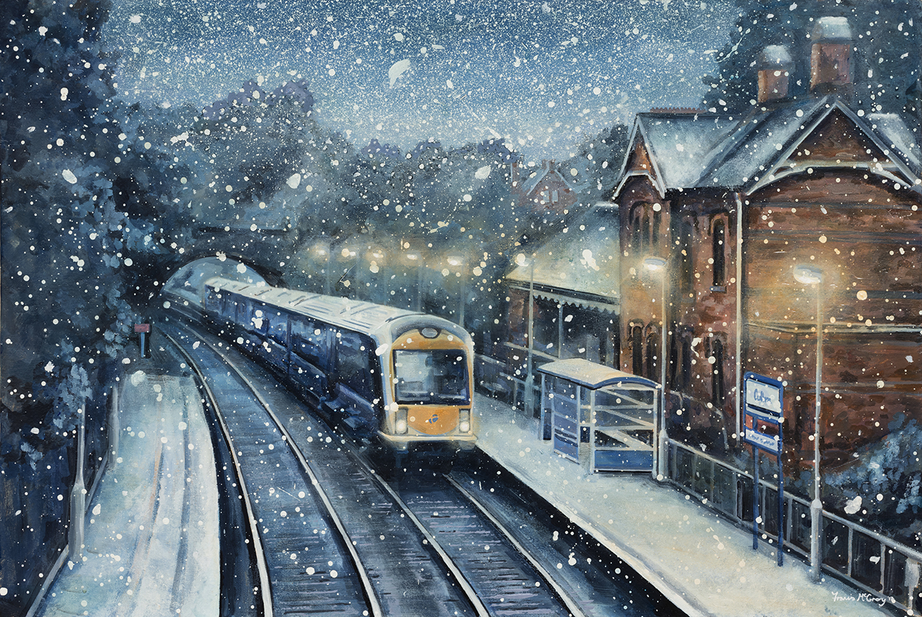 Cultra Station In the Snow