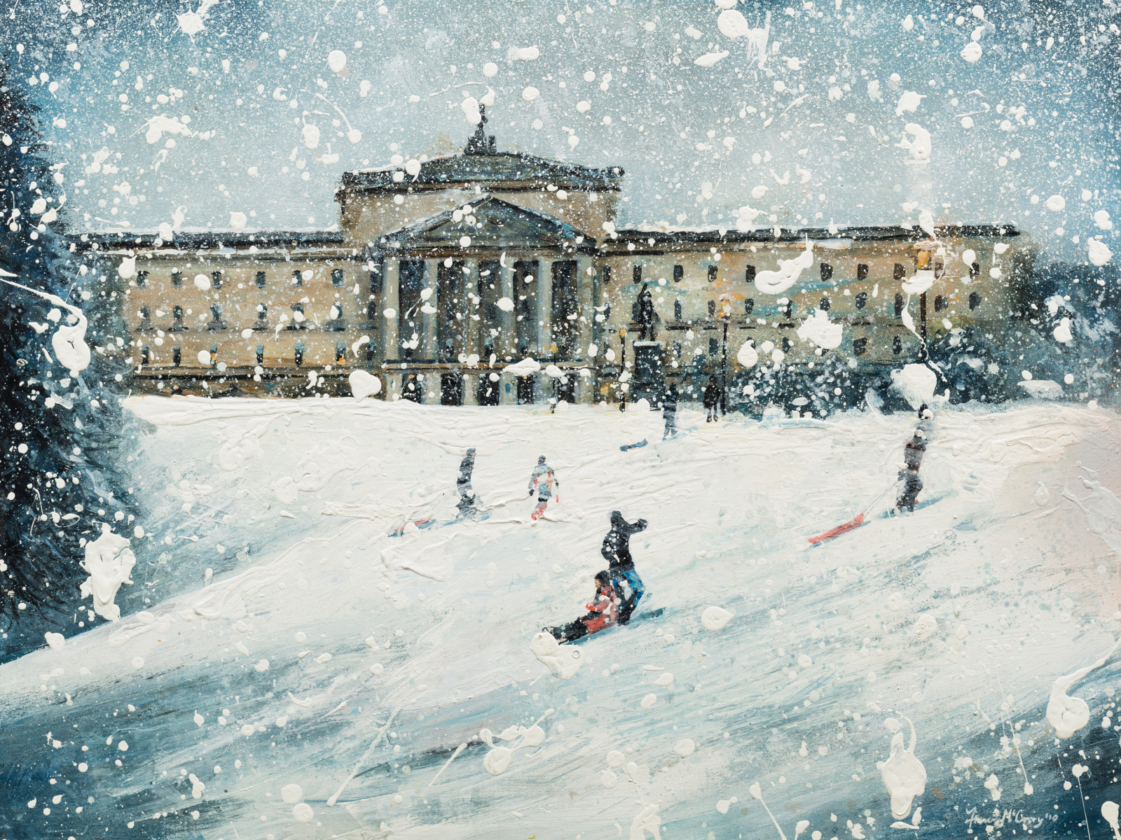 Stormont In The Snow