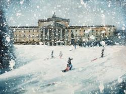 Stormont In The Snow