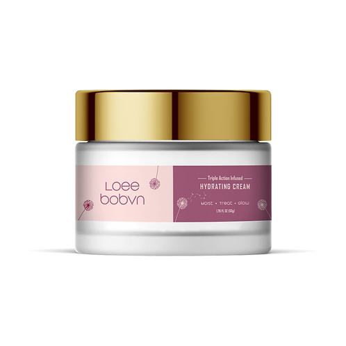 Triple action infused hydrating moisturizing cream