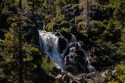 Tahoe water falls